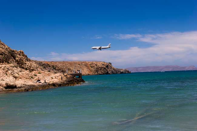 Heraklion Airport is the main international airport of the Greek island of Crete and the main connection to mainland along with Chania Airport.
